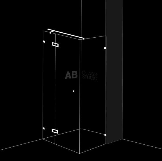 Душ-кабина 3 части и 1 отваряема врата