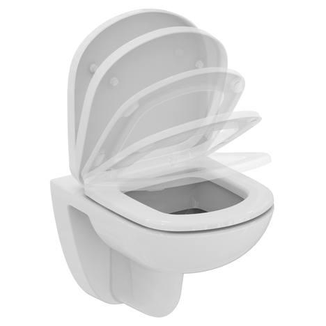 Tempo Конзолна тоалетна чиния - къса проекция 48 cm