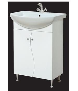 Долен шкаф за баня с мивка Багира