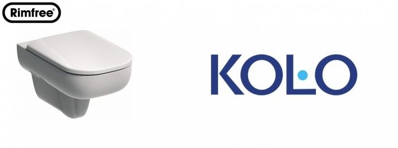 Конзолна тоалетна с обикновен капак Rimfree Traffic - KOLO