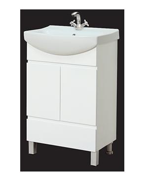 Долен шкаф за баня с мивка Тиара