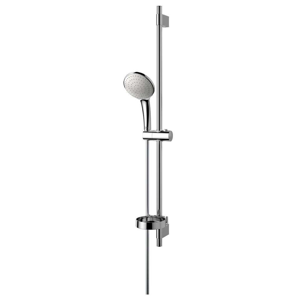 Idealrain Душ комплект, тръбно окачване 900 mm с еднофункционален ръчен душ L1