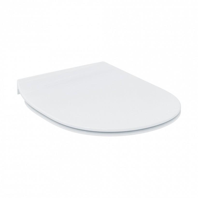Ултра тънка седалка с метални панти Connect - IDEAL STANDARD