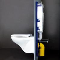 Комплект структура за вграждане с окачена тоалетна чиния