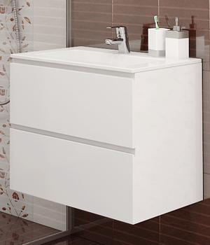 Долен шкаф за баня с мивка Линеа
