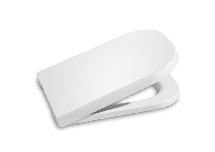 Седалка и капак за тоалетна с плавно затваряне The Gap - ROCA