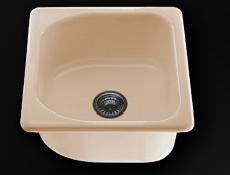 Единична мивка 51х46см. дълбочина 21см.