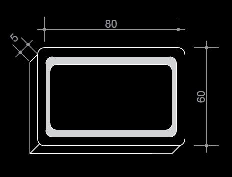 Огледало с вградено LED осветление, 80/60 см