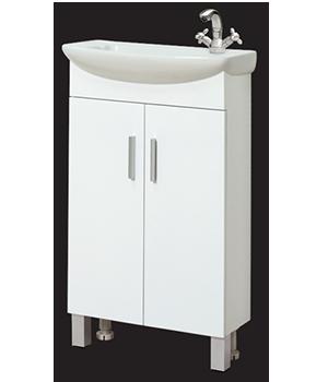 Долен шкаф за баня с мивка Елфи