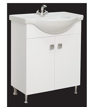 Долен шкаф за баня с мивка Лариса