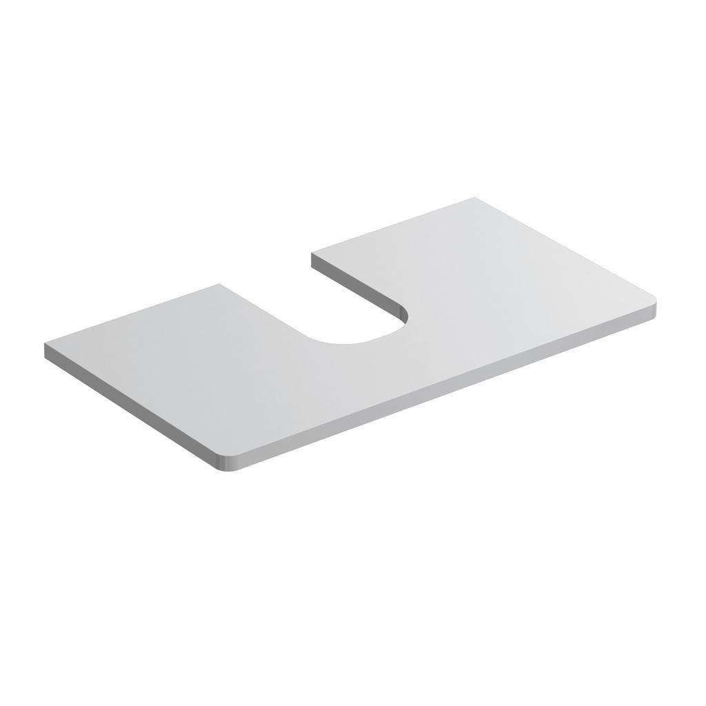Softmood Плот за шкаф с мивка 80 cm