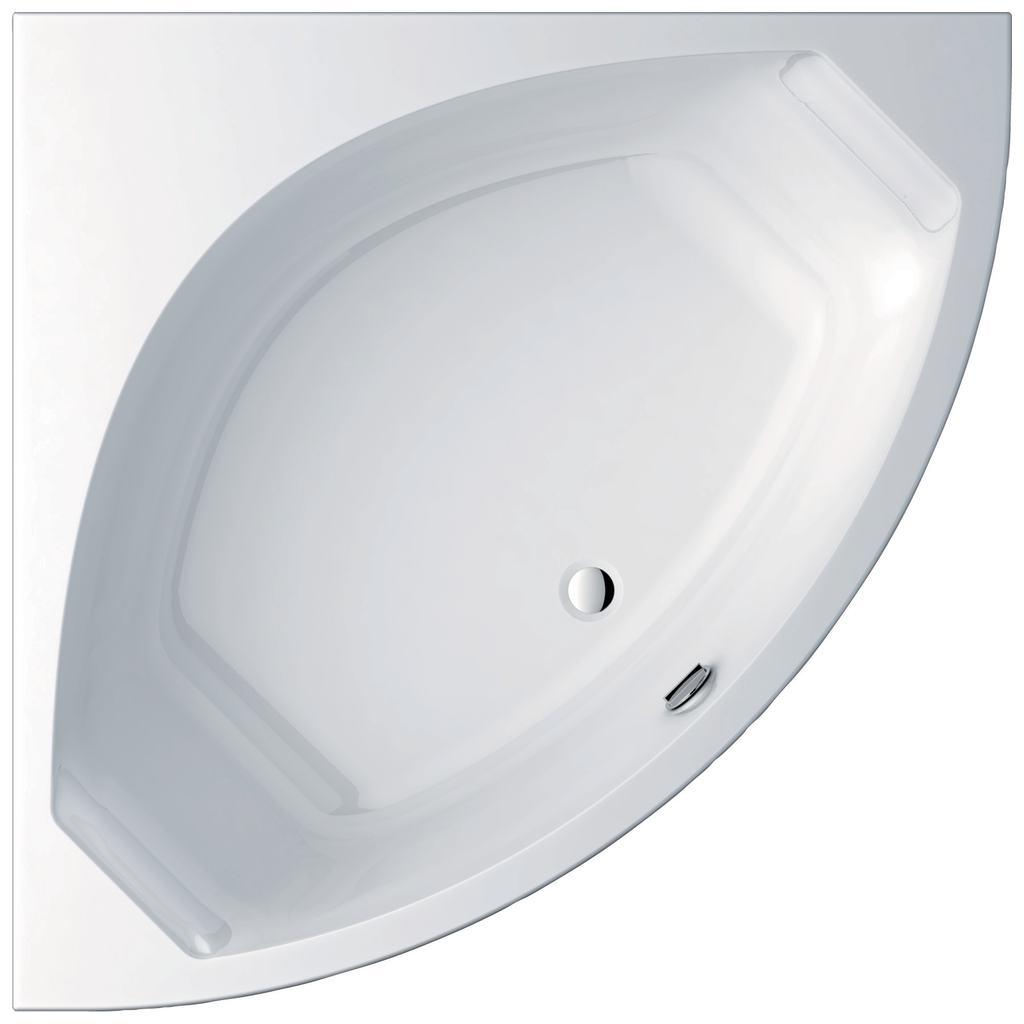 Active Ъглова вана 150x150 cm, пълен комплект