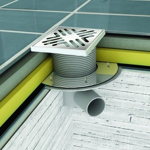 Отводнителна система, Производител Mesa Teknik, ф15х 15 вертикален изглед;