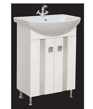 Долен шкаф за баня с мивка Лима