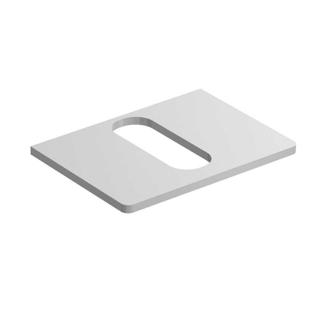 Softmood Плот 60 cm за инсталиране на мивка 55 cm за монтаж върху плот