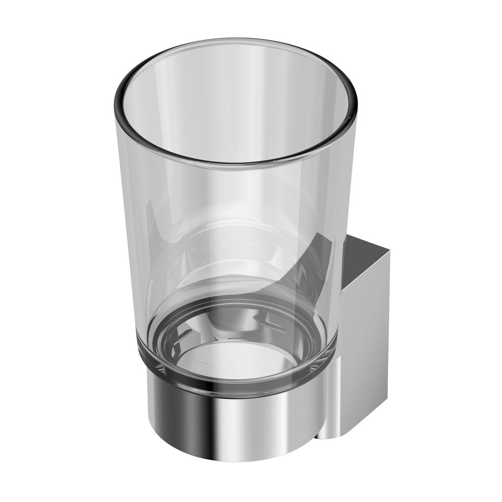 Connect Стъклена чаша с държач