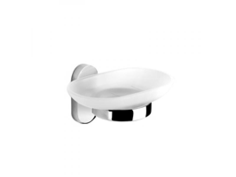 Стъклена сапунерка за баня Selena 2402