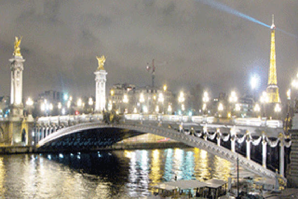Стенна декорация Inк Jet KAI Декор Paris Bridge