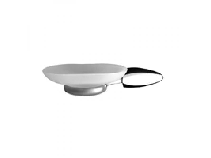 Стъклена сапунерка за баня Diana 7102