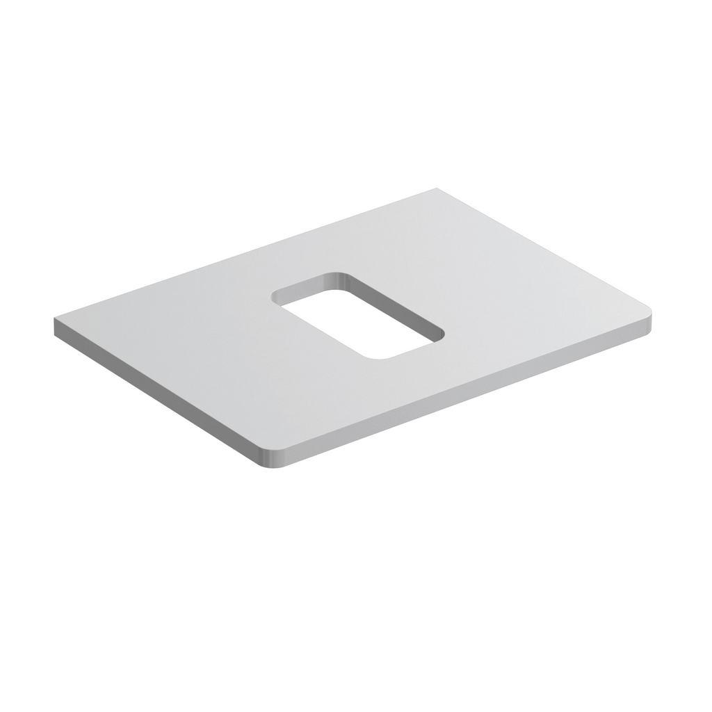 Softmood Плот за инсталиране на мивка 60 cm за монтаж върху плот