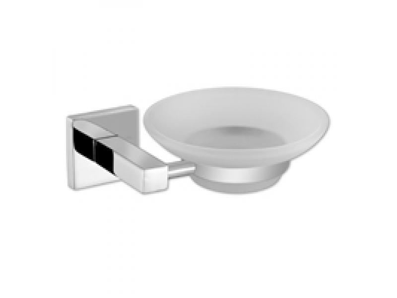 Стъклена сапунерка за баня Sirena 1302