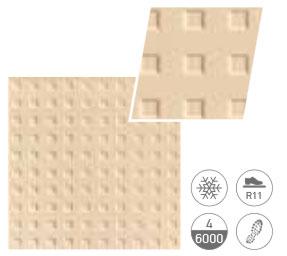 Cream - анти-слип плочка F1 квадрати 20x20(9mm)