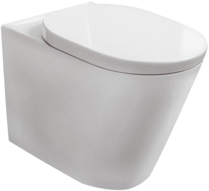 Стояща тоалетна чиния с тоалетна седалка Tonic - IDEAL STANDARD
