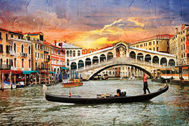 Стенна декорация Inк Jet KAI Декор Venice Bridge