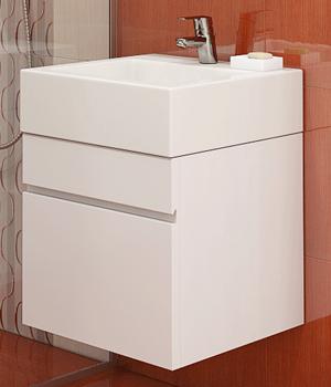 Долен шкаф за баня с мивка Лукс