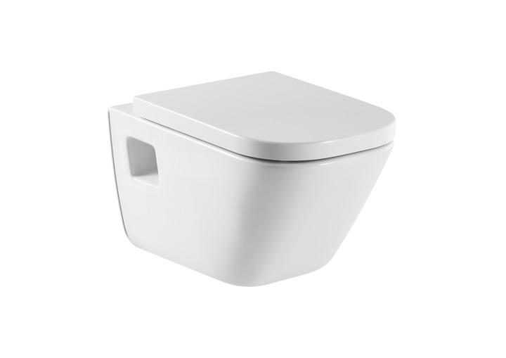 Окачена тоалетна чиния и седалка забавено падане The Gap - ROCA