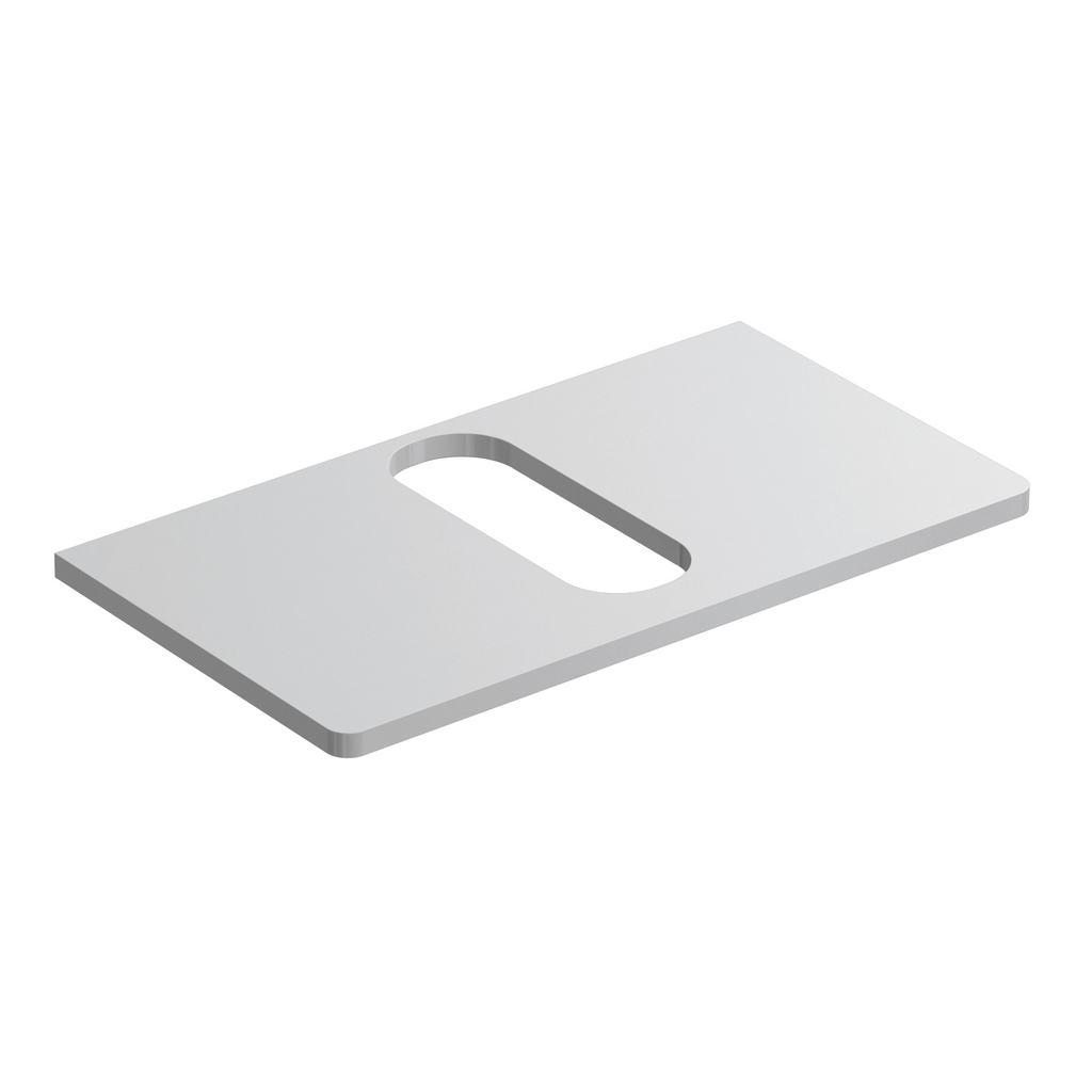 Softmood Плот 80 cm за инсталиране на мивка 55 cm за монтаж върху плот