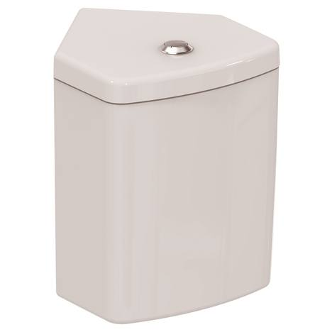 Connect Тоалетно казанче за WC комплект ъглова версия долно водоподаване Ideal Standard E120201