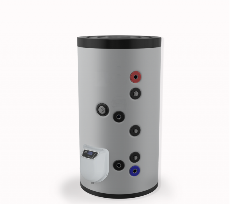 Бойлер ЕЛДОМ стоящ 150 л, една серпентина, електронно управление, неръждаем,FV15062ISE