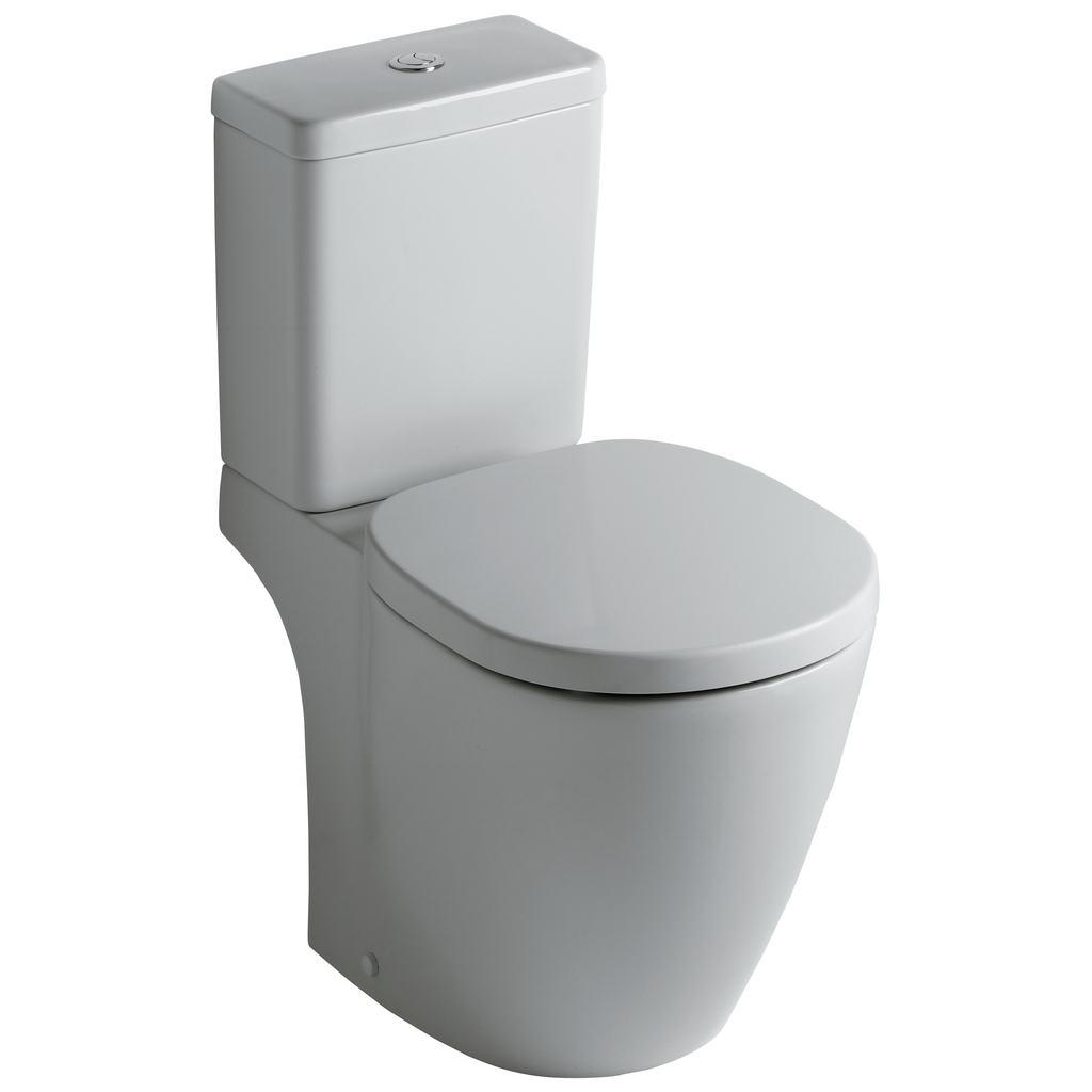 Connect Стояща тоалетна чиния за WC комплект вертикално оттичане