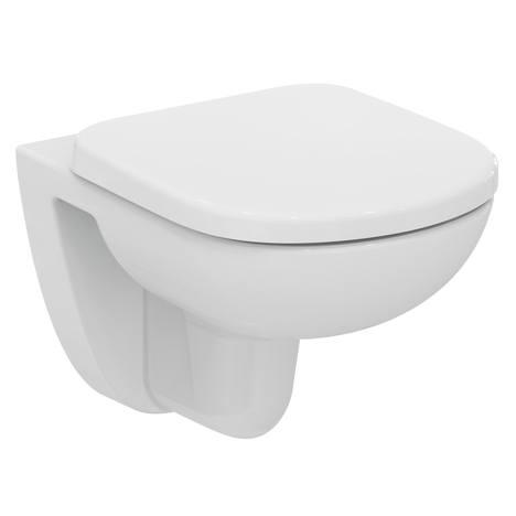 Тоалетна седалка с метални крепежи Ideal Standard T67980