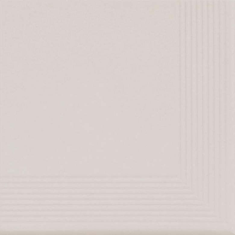 Cream - ъглова стъпална плочка 30x30(11mm)