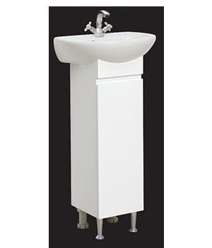 Долен шкаф за баня с мивка Ида