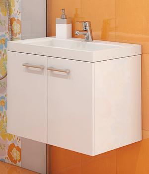 Долен шкаф за баня с мивка Калипсо