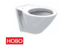 Стенна тоалетна и седалка плавно затваряне HappyBath - FAYANS