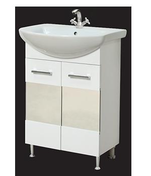Долен шкаф за баня с мивка Навара