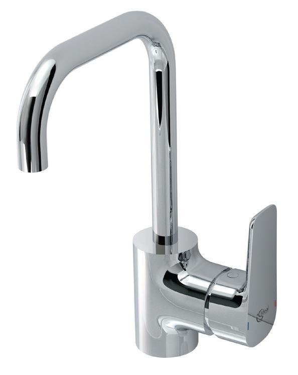 Смесител за мивка с удължен чучур Ceraplan III - IDEAL STANDARD
