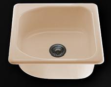 Единична мивка 51х60см. дълбочина 21см.
