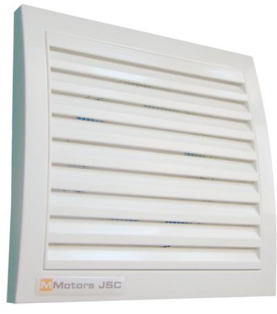 Вентилатор ММ100кв клапа