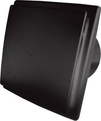 Вентилатор ОК 01 Черен с клапа