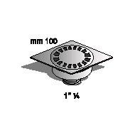 Сифон , Производител Sapil, PO51870C54, Артикул номер: 03301 размери ф10/10 ; прав