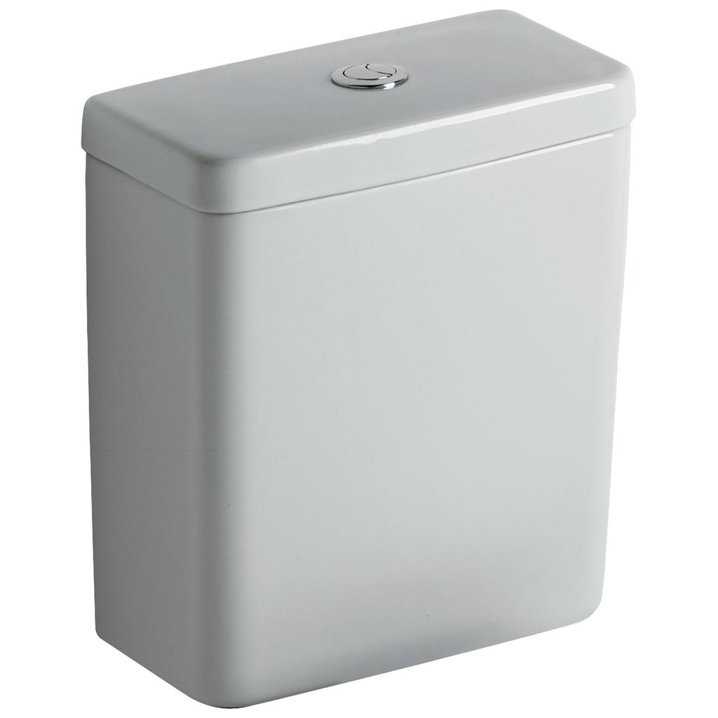 Connect Тоалетно казанче за WC комплект CUBE долно водоподаване