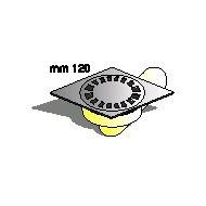 Сифон, Производител Sapil, РО51890С54, Артикул номер: 03300 Размери: ф.10, 12/12 квадратен; рогов