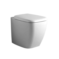 Стояща тоалетна с универсално оттичане и седалка Ventuno - IDEAL STANDARD
