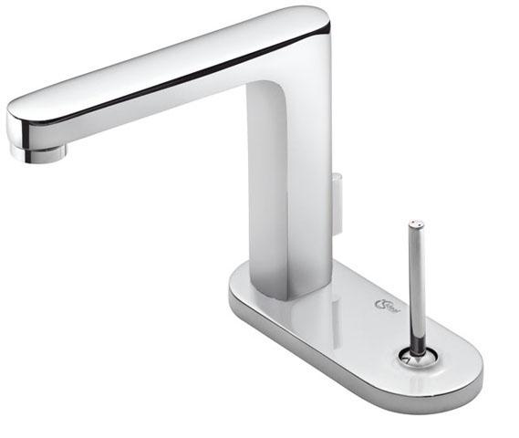 Смесител за мивка с овална розетка Simply U - IDEAL STANDARD