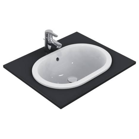 Connect Мивка за вграждане 55 cm, oвална, без отвор за смесител Ideal Standard E504701